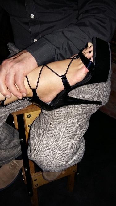 Bei solchen Füßen wird jeder zum Fußfetischisten