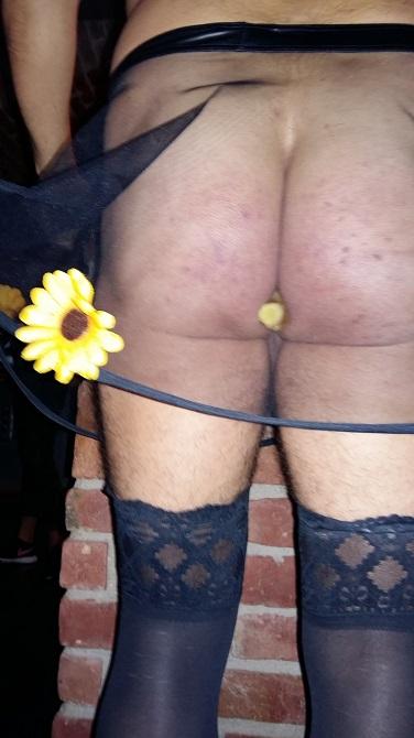 Blumenmädchen mit Ingwer